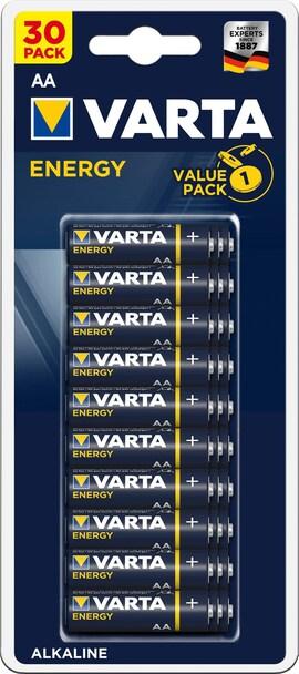 Baterie Varta Energy Aa 1.5V 30 Szt