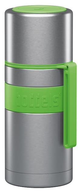 Boddels Heet Vacuum Flask With Cup Apple Green, Capacity 0.35 L, Diameter 7.2 Cm, Bisphenol A (Bpa)