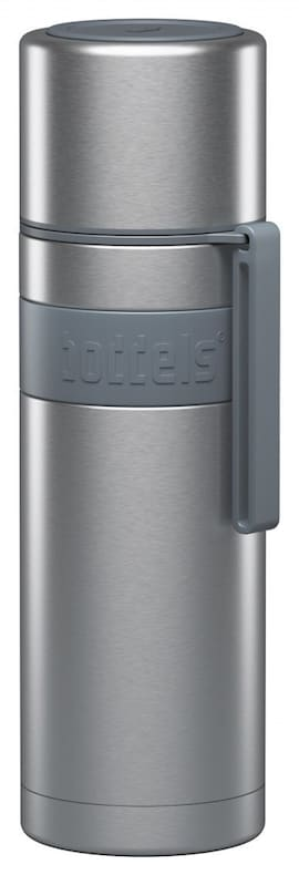 Boddels Heet Vacuum Flask With Cup Light Grey, Capacity 0.5 L, Diameter 7.2 Cm, Bisphenol A (Bpa) Fr