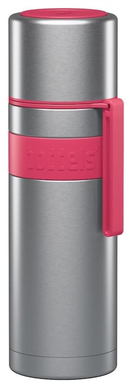 Boddels Heet Vacuum Flask With Cup Raspberry Red, Capacity 0.5 L, Diameter 7.2 Cm, Bisphenol A (Bpa)