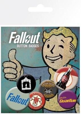 Fallout 4 Quantum Badge Pack 10x15cm