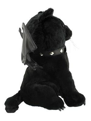 Spiral Bat Cat Plush Toy Black 30cm - product photo 1