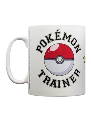 Pokemon Trainer Mug White