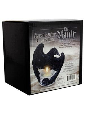 Alchemy Raven's Ward Tea Light Holder 11cm - product photo 2