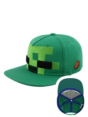 Minecraft Zombie Head Cap Green