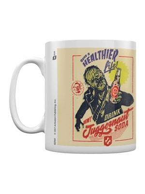 Call of Duty Juggernaut Soda Mug White