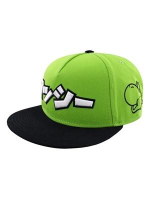 Super Mario Nintendo Yoshi Japanese Snapback Cap Green
