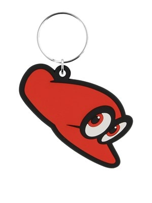 Super Mario Odyssey Cappy Rubber Keyring