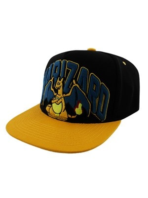 Pokemon Charizard Snapback PKMN Cap Orange