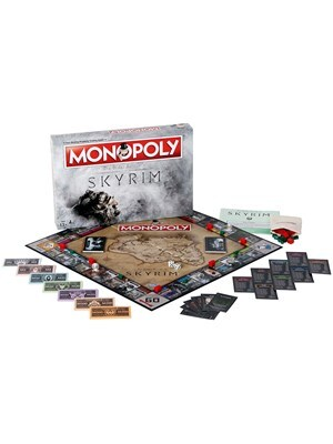 Skyrim Monopoly Board Game - product photo 2
