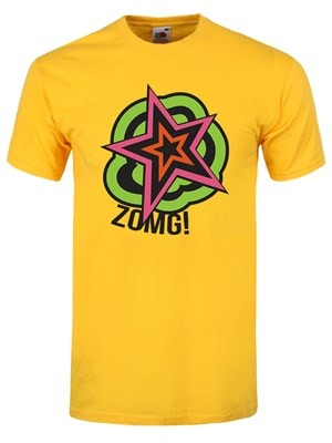 "Zomg! Men's Yellow Tshirt / Extra Large (Mens 42"" to 44"")"