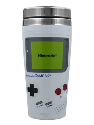 Nintendo Game Boy Travel Mug White
