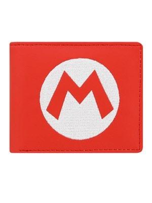 Super Mario Nintendo Logo Red BiFold Wallet