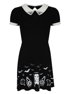 Banned Black Magic Dress  Skinny Fit Large (UK 12 to 14)