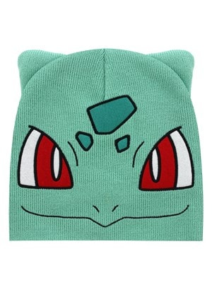 Pokemon Bulbasaur Green Beanie