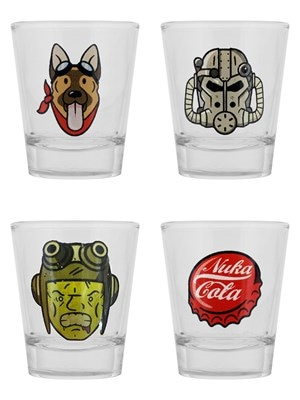 Fallout 4 Icons Set Shot Glass