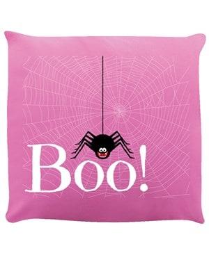 Boo! Spider Cushion Pink 40x40cm
