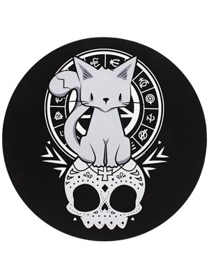 Kitten Of The Night Black Back Patch 30x30cm