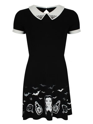 Banned Black Magic Dress  Skinny Fit Small (UK 8 to 10)
