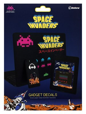 Space Invaders Gadget Decals