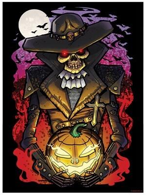 Halloween Undead Walker Mini Poster 32x44cm