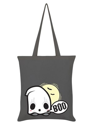 Trick Or Treat Baby Ghost Halloween Halloween Bag Graphite Grey 38 x 42cm