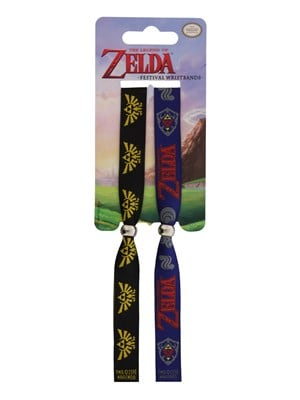 The Legend of Zelda Festival Wristband Black