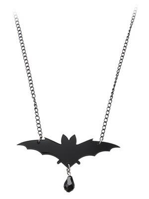 Cherryloco Bat Pendant Necklace