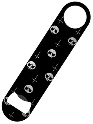 Satanic Skulls Bar Blade Bottle Opener 18x4cm