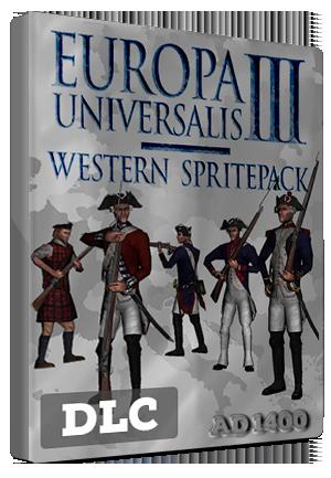 Europa Universalis III: Western - AD 1400 Spritepack Steam Key GLOBAL