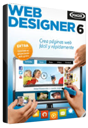 MAGIX Web Designer 6 GLOBAL Key Other