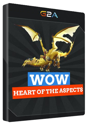 World of Warcraft - Heart of the Aspects MOUNT Battle.net NORTH AMERICA
