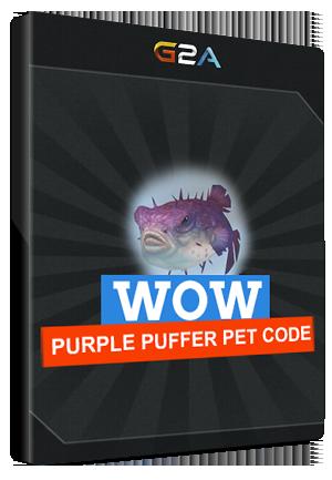 World of Warcraft Purple Puffer Pet Code Blizzard EUROPE