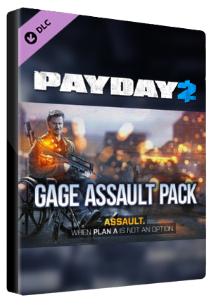 PAYDAY 2: Gage Assault Pack Steam Gift GLOBAL
