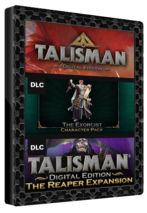 Talisman Digital Edition + Reaper Expansion + Exorcist Pack Steam