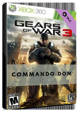 Gears Of War 3 Commando Dom Xbox Live Code Xbox One Global G2a Com