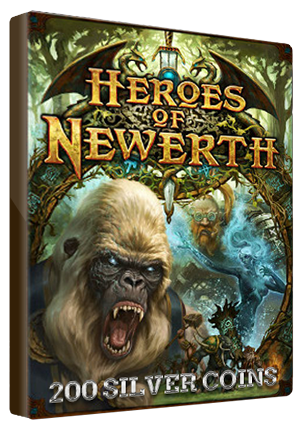 Heroes Of Newerth EUROPE 200 Silver Coins