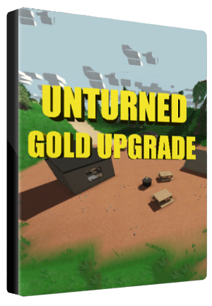 Unturned Permanent Gold Account Upgrade Key Steam GLOBAL - box
