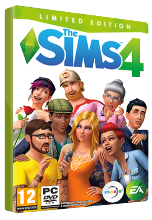 The Sims 4 Limited Edition Origin Key GLOBAL - box
