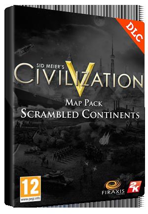 Sid Meier's Civilization V: Scrambled Continents Map Pack Steam Key GLOBAL