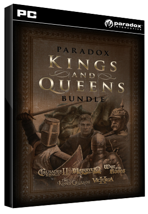 Paradox Kings and Queens Bundle Steam Key GLOBAL - G2A COM
