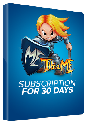 TibiaME Subscription Premium Time Code Cipsoft GLOBAL 30 Days