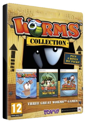Worms Collection Key Steam GLOBAL