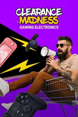 Winter Clearance Sale Gaming Electronics