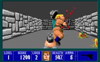 Wolfenstein 3D Steam Key GLOBAL - gameplay - 2