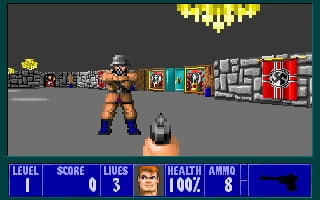 Wolfenstein 3D Steam Key GLOBAL - gameplay - 4