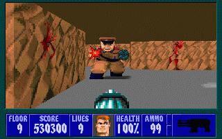 Wolfenstein 3D Steam Key GLOBAL - gameplay - 3