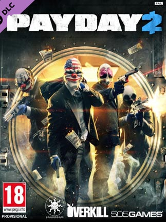 PAYDAY 2: Lycanwulf and The One Below Mask Steam Key GLOBAL