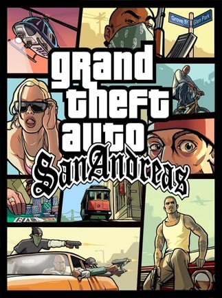 Grand Theft Auto San Andreas Steam Key GLOBAL - box