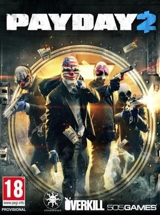 PAYDAY 2 (PC) - Steam Gift - JAPAN